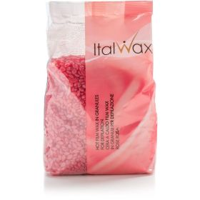Italwax tvrdý depilační vosk ROSE 0,5KG