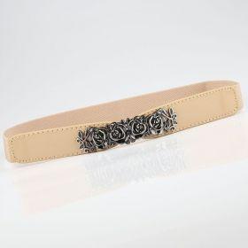 Dámský elastický pásek Baroque Khaki