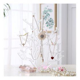 Stojan na šperky Strom transparentní