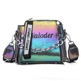 Waioder 1980 dámská crossbody kabelka s řetízkem Multicolor
