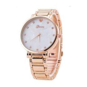Geneva hodinky dámské Opál Růžové zlato
