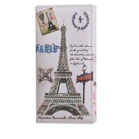 Dámská peněženka s motivy měst Paříž Metro