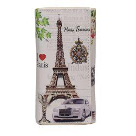 Dámská peněženka s motivy měst Paříž Tourist