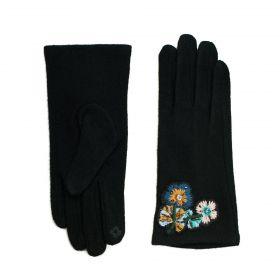 ArtOfPolo dámská rukavice Frosty garden Černé