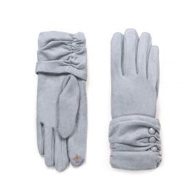 ArtOfPolo dámské rukavice Mediolan Šedé