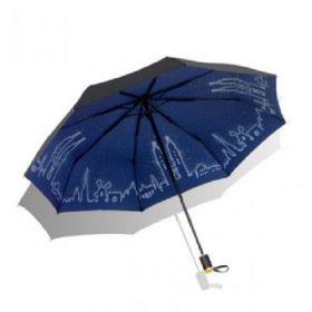 Dámský skládací deštník  Modré město