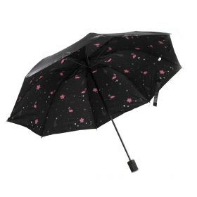 Dívčí skládací deštník  Plameňáci