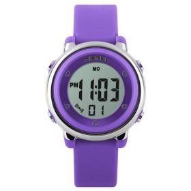 SKMEI 1100 dívčí digitální hodinky Fialové