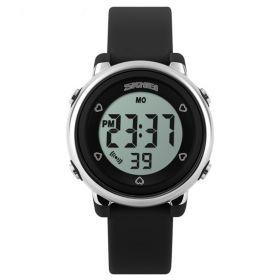 SKMEI 1100 digitální sportovní hodinky Černé