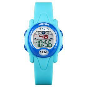 SKMEI 1478 dívčí sportovní hodinky Love It Modré