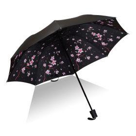 Dámský skládací deštník Růžový keřík