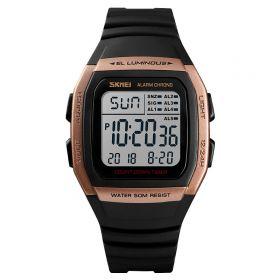 SKMEI 1278  digitální hodinky Retro Age - zlaté