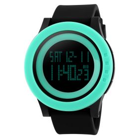 SKMEI 1142 dámské hodinky Grande Neon Zelené