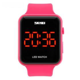 Skmei 1176 dámské LED hodinky Red Fusion Růžové