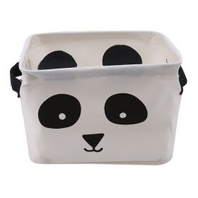 Textilní koš na drobné předměty Panda