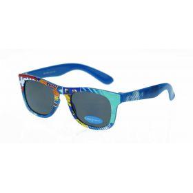 Dino Junior dětské sluneční brýle Wayfarer - Comics Modré