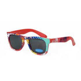 Dino Junior dětské sluneční brýle Wayfarer - Comics Červené