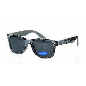 Dino Junior dětské sluneční brýle Wayfarer - Camouflage