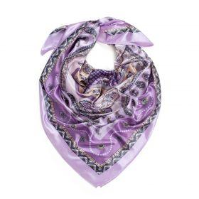 Dámský šátek s ornamenty Orientál Levandule