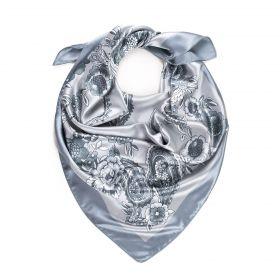Dámský šátek s ornamenty Flores Silver