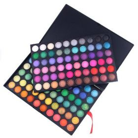 Profesionální paleta očních stínů - 120 barev