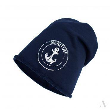 Beanie Unisex čepice Maritine Černá