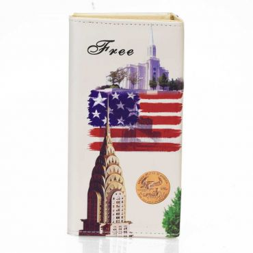 Dámská peněženka s motivem USA - Socha svobody
