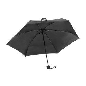 Skládací mini deštník Černý