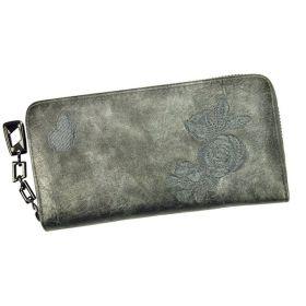 Eslee Dámská peněženka Růže šedá