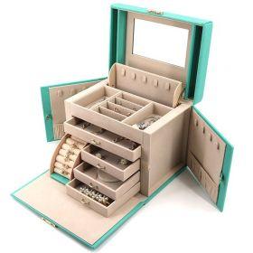 Luxusní kufřík na šperky ETUI Sofie Mátový