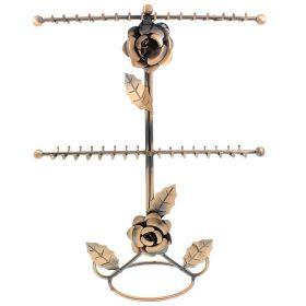 Kovový stojan na šperky Růžička Rose