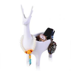 Miska na šperky Paroháč Bílý