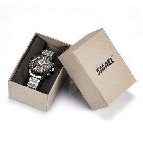 SMAEL dárkový box na hodinky Hnědý