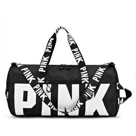 Sportovní taška do posilovny na jógu PINK Černá
