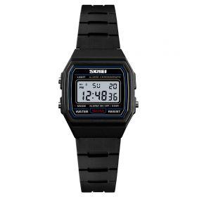 SKMEI 1460 dětské digitální hodinky Černé