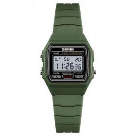 SKMEI 1460 dětské digitální hodinky Zelené