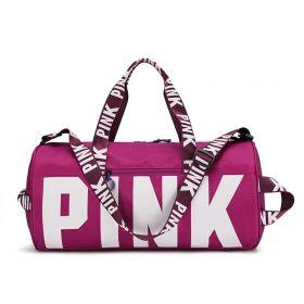 Sportovní taška do posilovny na jógu PINK Violet